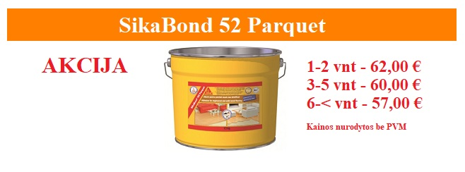 SikaBond 52 parquet akcija